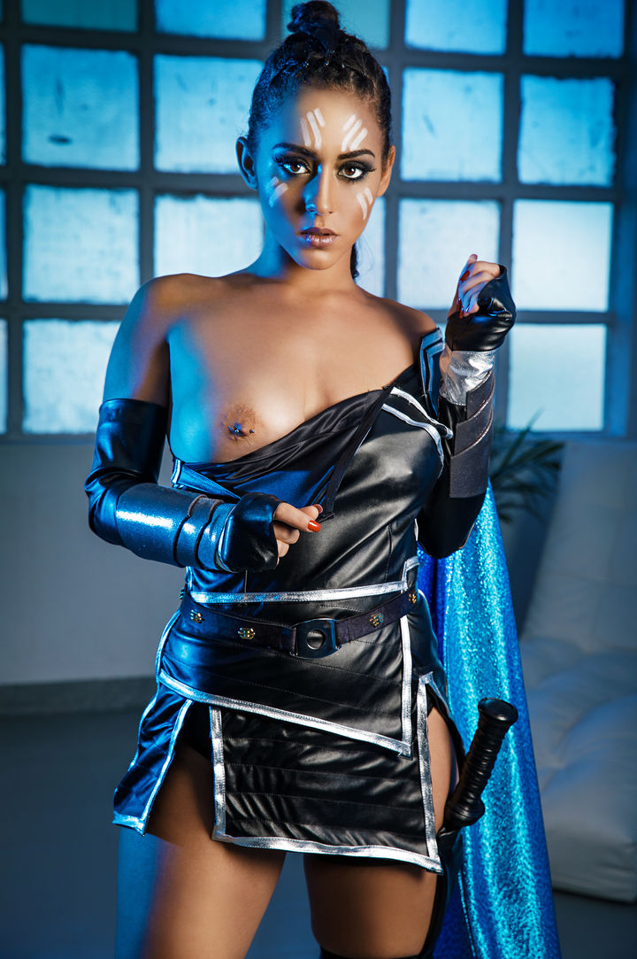 Aysha X's VR Porn Videos