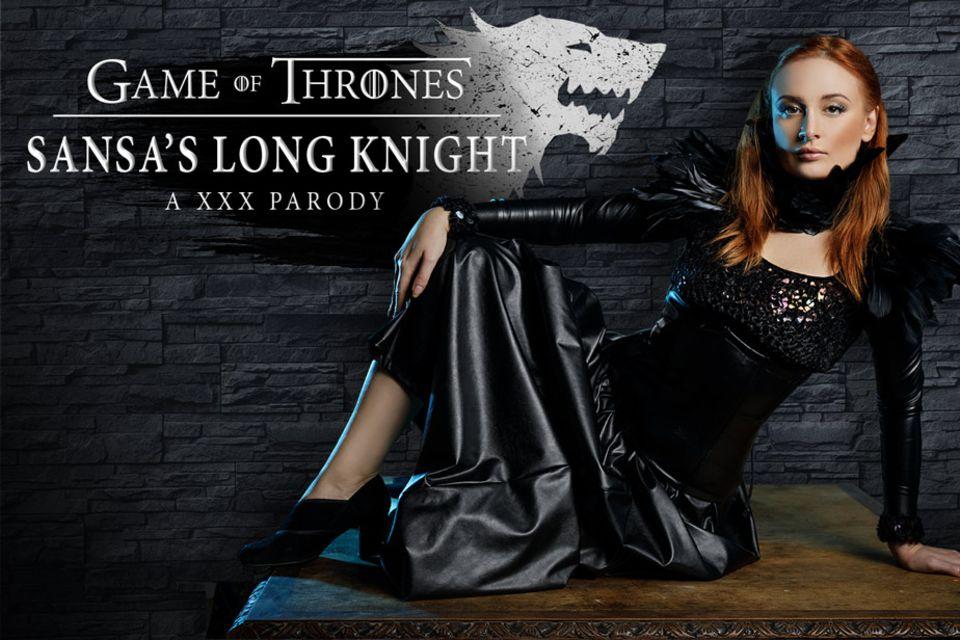 GoT: Sansa's Long Knight a XXX Parody VR Porn Video