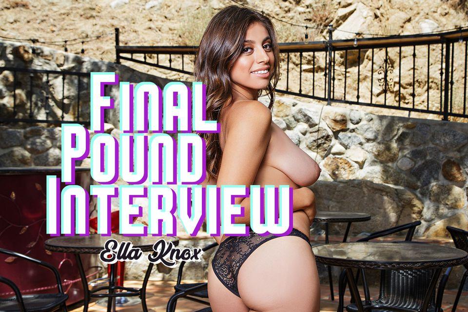 Final Pound Interview VR Porn Video