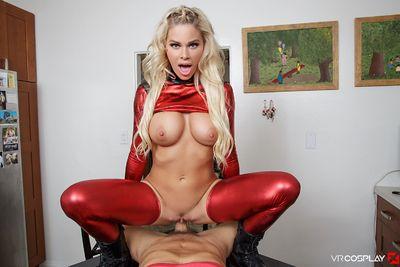 Lady Deadpool A XXX Parody VR Porn Video