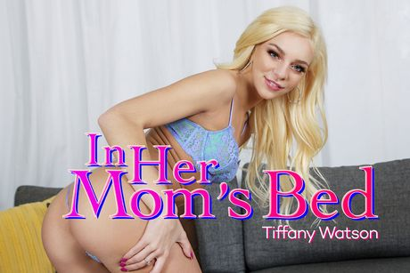 In Her Mom's Bed VR Porn Video