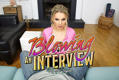 Blowing An Interview VR Porn Video