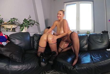 Lesbian Office VR Porn Video