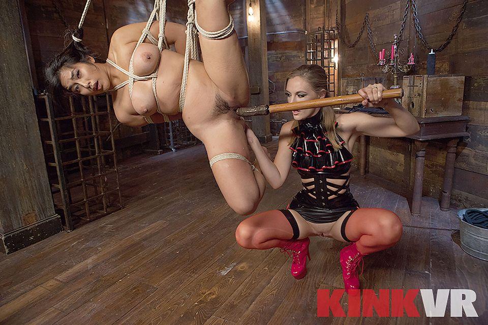 Dangling Rope Slut VR Porn Video