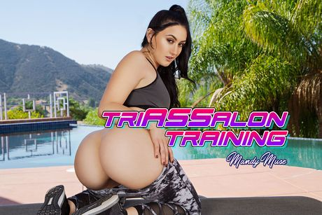 Triassalon Training VR Porn Video