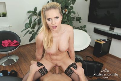 Naughty Mrs Peterson VR Porn Video