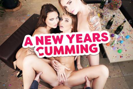 A New Year Cumming VR Porn Video