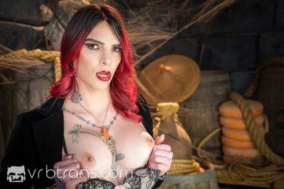 Cum To Dracula VR Porn Video