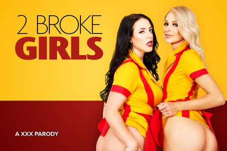 2 Broke Girls A XXX Parody VR Porn Video