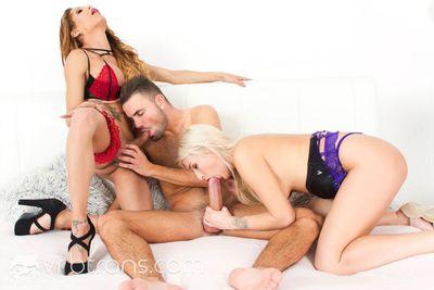 Our Threesome Fantasy VR Porn Video
