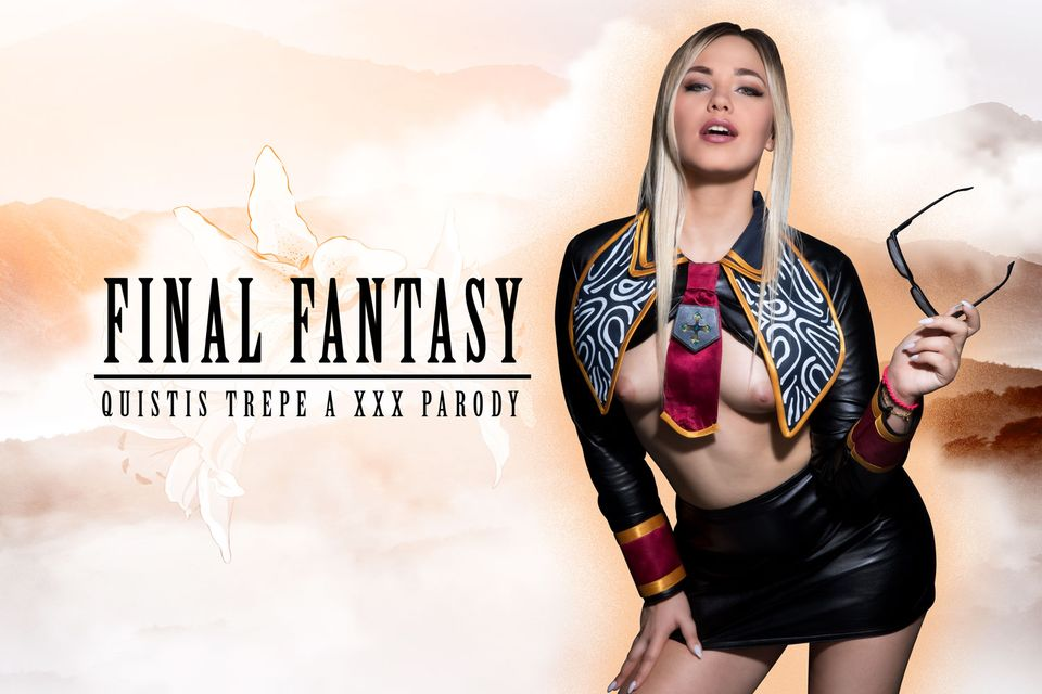 Final Fantasy: Quistis Trepe A XXX Parody VR Porn Video