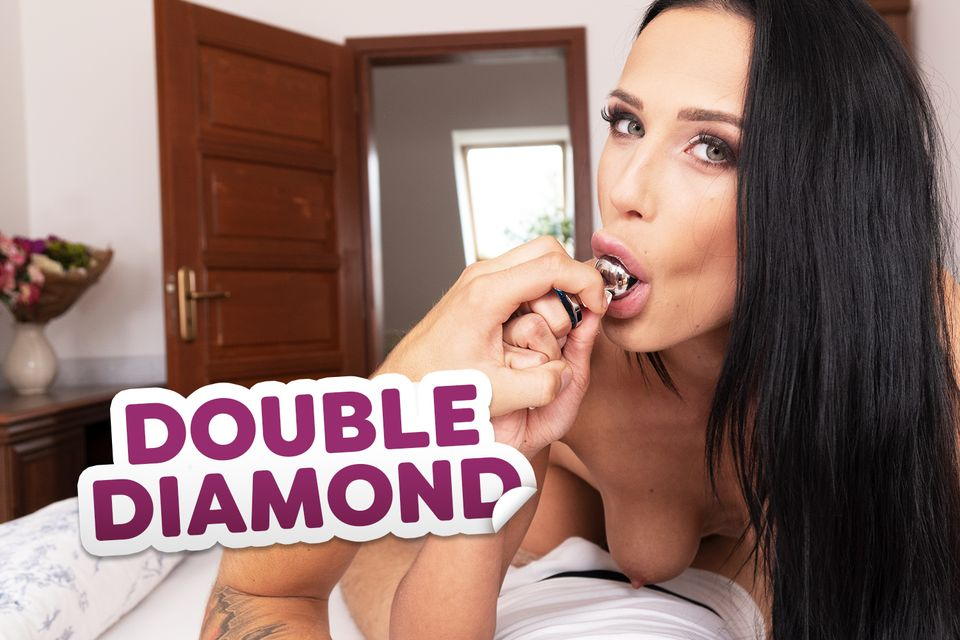 Double Diamond VR Porn Video