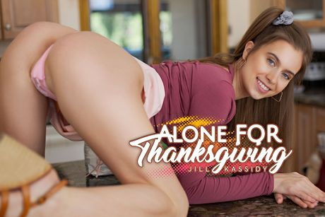 Alone For Thanksgiving VR Porn Video