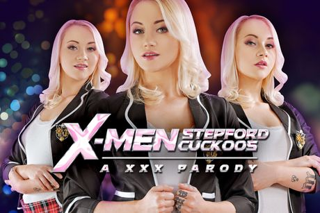 Xmen: Stepford Cuckoos A XXX Parody VR Porn Video