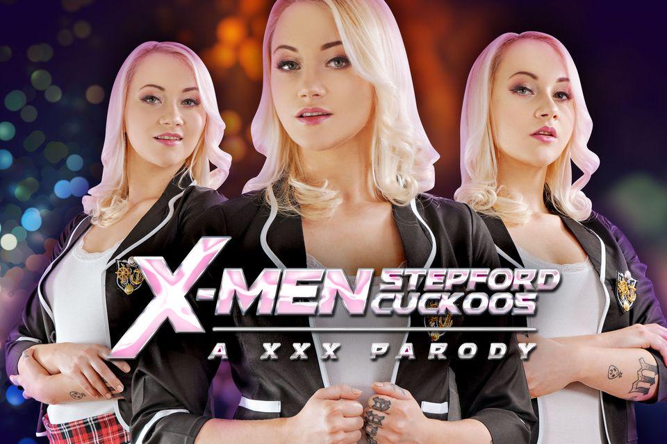 Xmen: Stepford Cuckoos A XXX Parody VR Porn Video