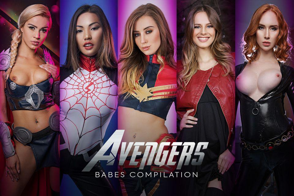 Avengers Babes Compilation A XXX Parody VR Porn Video