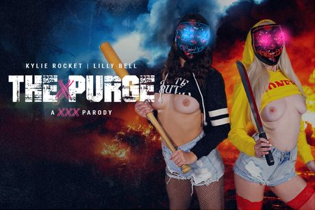 The Purge Is Cumming VR Porn Video