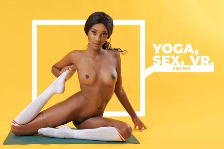 Yoga, Sex, VR. VR Porn Video