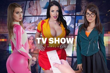 Cosplay TV Show Compilation VR Porn Video