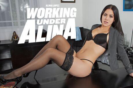 Working Under Alina  VR Porn Video