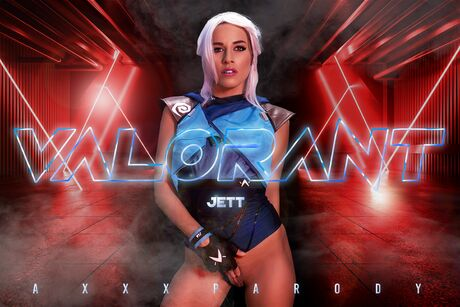 VALORANT: Jett A XXX Parody VR Porn Video