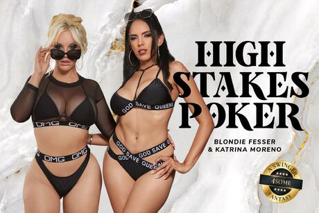 High Stakes Poker  VR Porn Video