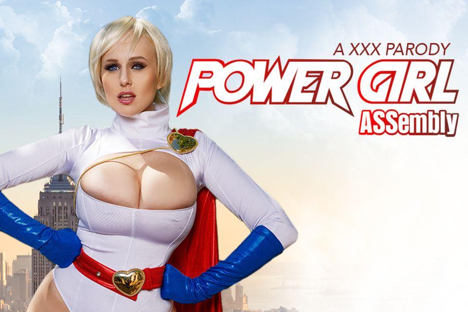 Powergirl ASSembly A XXX Parody VR Porn Video