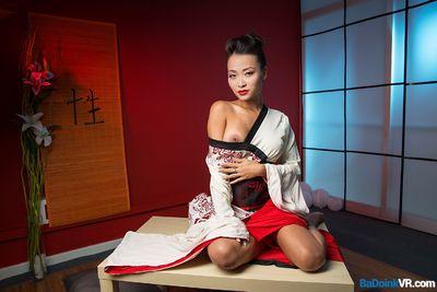 Geisha Go Anal VR Porn Video