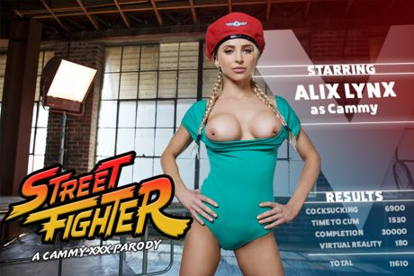 Street Fighter: A Cammy XXX Parody VR Porn Video